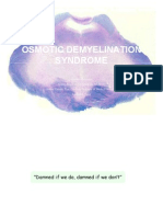 osmotic demyelination syndrome