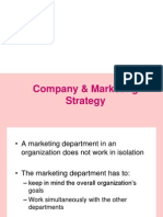 2. Company & Marketing Strategy