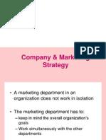 2. Company & Marketing Strategy