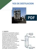 Destilacion y Deshidratacion