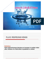 fluid responsiveness in critically ill
