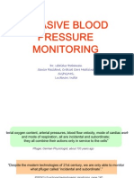 invasive blood pressure monitoring- technical consideration