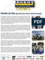 Regent Racing_October Newsletter