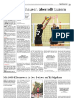 Zeitungsbericht 06. November Damen 1 - FC Luzern