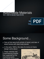 History Cars Materials
