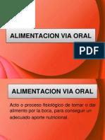 Alimentacion Por via Oral