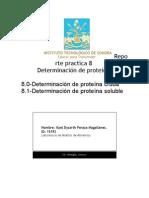 Practica -8- Determinacion de Proteina Cruda y Soluble