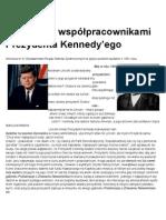 Początek kadencji Prezydenta USA Johna F. Kennedy -prasowy dokument z 1961 roku w języku polskim