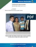 Informe Misionero a Agosto - Pereira, Risaralda