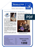 237 General Newsletter No 15 August 2012