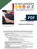 Scholarships A-Z 2011-2012
