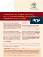Cornerstones for effective ARD programmes under a programme-based approach