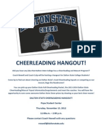 Cheerleading Hangout