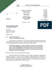 Lori Davis GORA 10312012 Response
