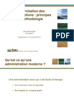 DAI - Modernisation Administrations