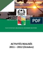 GUINEE BISSAU - Plan Action