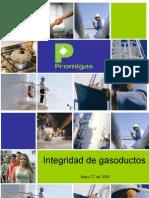 integridad gasoducto