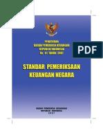 Peraturan BPK RI_2007_No 01_Standar Pemeriksaan Keuangan Negara