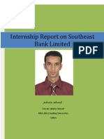 Internship Report on Southeast Bank Limited