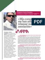 APIMA Entrevista Publicada en el  núm 73 de la Revista Pavimentos a nuestro Presidente