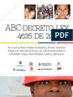 ABC Decreto Ley 4635 2011 Afrocolombianos