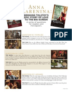 Anna Karenina - Book to Movie Reading Group Guide