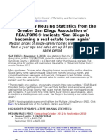 Home sales up 34 Percent, according to Greater San Diego Association of REALTORS