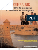 Mer Ba Bik Welcome to a Course in Maltese for Foreigners Book CD (1)