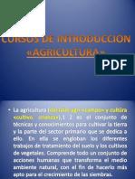 Cursos de Introduccion de La Agricultura. - Copia