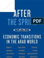 After the Spring - Economic Transitions in the Arab World