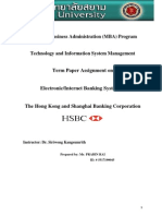 Project Report on HSBC Bank | Hsbc | Banks