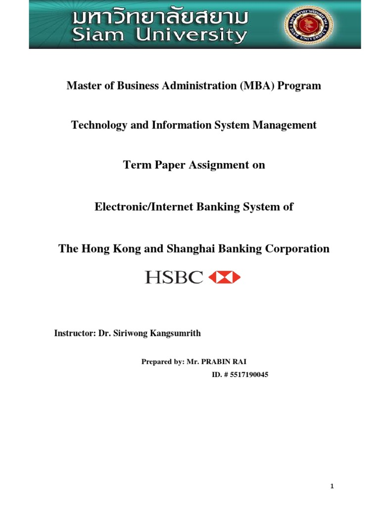 research methodology into ratio analysis of hsbc bank Published: mon, 5 dec 2016 in this project my aim is to analysis the ratio analysis to find financial position of the hsbc bank by using the financial tools and also to know the functions of internet banking system in hsbc bank.