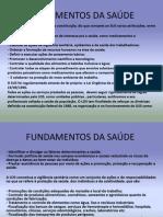 FUNDAMENTOS DA SAÚDE