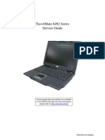 Service Manual Acer TravelMate 6492