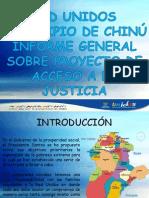 Proyecto Acceso a La Justicia Municipio de Chinu