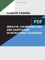 UNFCCC2007 CCImpactsVulnerabilities&Adaptation