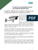 Productos D-Link son reconocidos con lospremios Channel Awards 2012