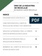Directorio de la Industria del Reciclaje