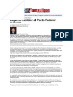 LERA2. Urgente Cambiar El Pacto Federal. 2.11.12