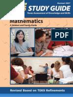 TAKS Math Study Guide