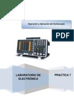 Práctica 7 Operación y Aplicación dle Oscilsocopio OK