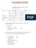 post survey maths