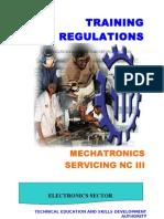TR - Mechatronics Servicing NC III -12142006