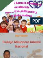 Informe Nacional Esc Dom