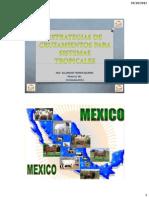 Estrategias de Cruzamientos Para Sistemas Tropicales