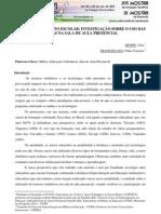 MIDIAS NO CONTEXTO ESCOLAR  INVESTIGAÇÃO SOBRE O USO DAS MÍDIAS NA SALA DE AULA PRESENCIAL