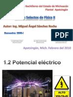 Potencial Electrico y Capacitancia