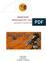 Rassegna Stampa Nomad 2012