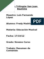 Trabajo de Musica(Resumen)
