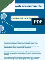 Copia de TERCERA CLASE - PROCESO DE LA MOTIVACIÓN